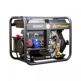 Дизелов трифазен генератор с ел.стартер Hyundai DG 7800 LE/T