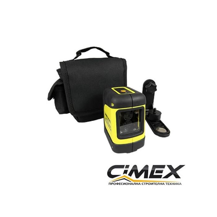 Лазерен нивелир с кръстосани линии CIMEX SL10