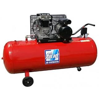 Бутален компресор с ремъчно задвижване Fiac AB 200-515 200л
