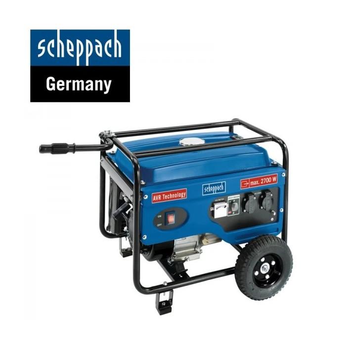 Електрогенератор Scheppach SG3100 / 6.5 к.с.