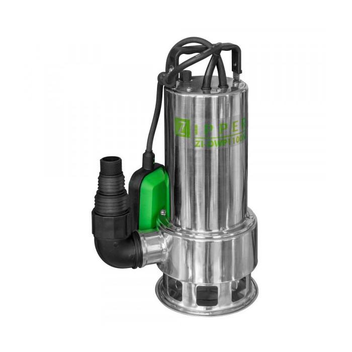 Потопяема дренажни помпа ZIPPER ZI-DWP1100N / 1.1 kW