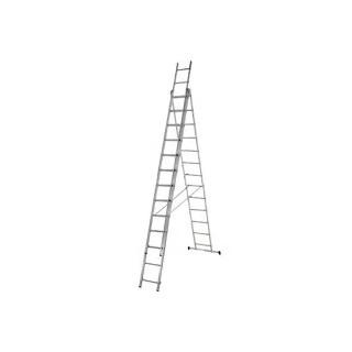 Алуминиева три секторна стълба 3х13