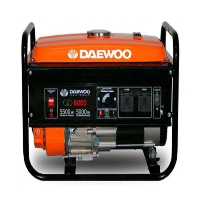 Бензинов генератор за ток Dаewoo GD6000 5kW/ 5.5kW