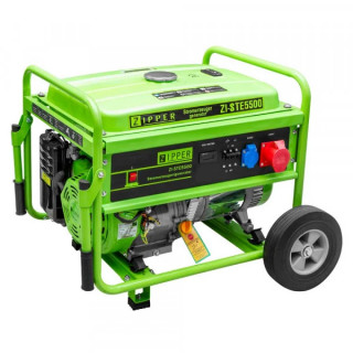 Бензинов трифазен генератор ZIPPER ZI-STE5500 / 8.5 kW
