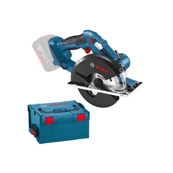Акумулаторен ръчен циркуляр Bosch GKM 18 V-LI - Соло машина
