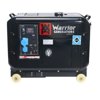 Дизелов генератор 5000 W CHAMPION WARRIOR LDG6000S-EU