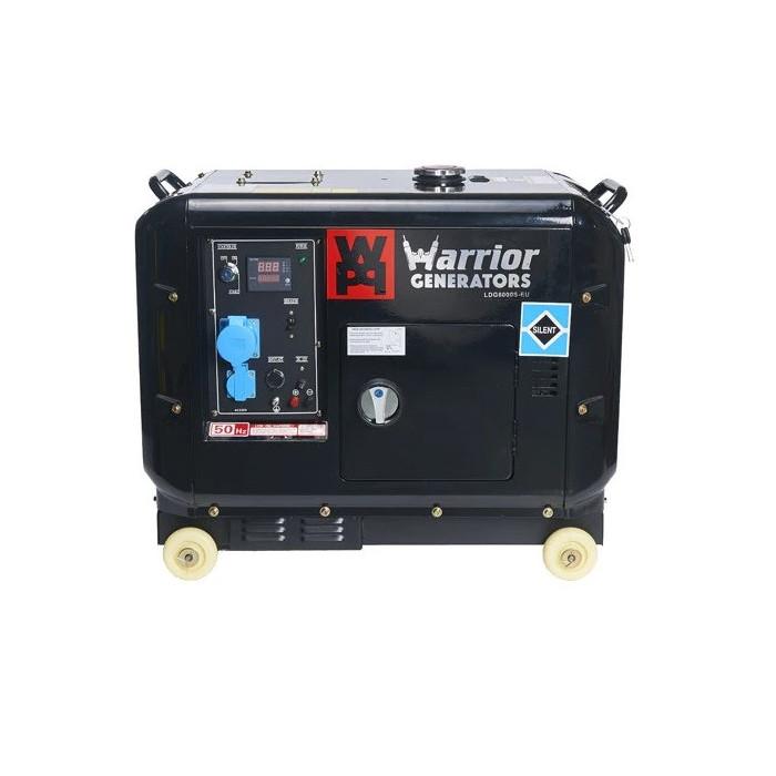 Дизелов генератор 5000 W CHAMPION WARRIOR LDG6000S-EU