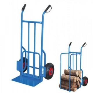Транспортна количка с пневматични колела Fervi C189