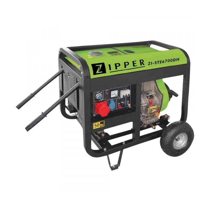 Трифазен дизелов генератор ZIPPER ZI-STE6700DH / 6.5 kW
