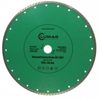 Диамантен диск за строителни материали LUMAG DS350T/ 350 мм