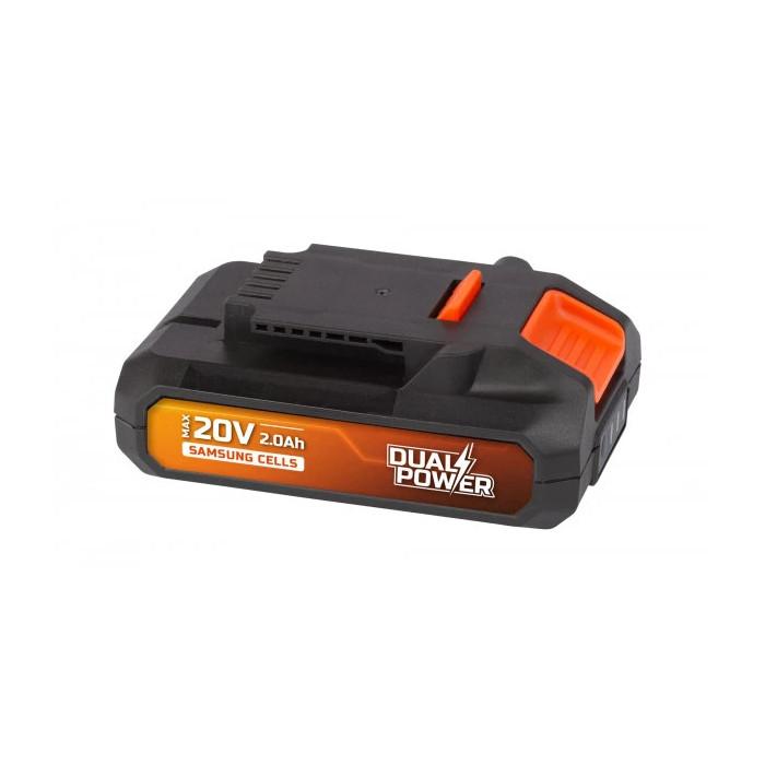 Акумулаторна батерия POWER PLUS POWDP9021 / 20V, SAMSUNG, 2.0Ah