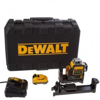 Лазерен нивелир DeWALT DCE089D1G 360° 2.0Ah - 30 метра