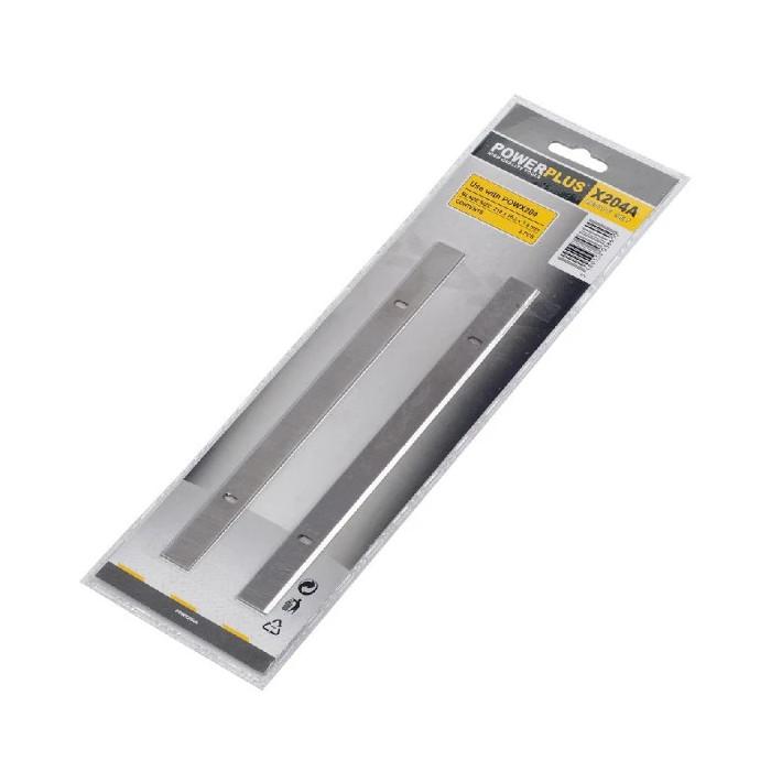Ножове за абрихт щрайхмус POWER PLUS POWX204A / 2 броя