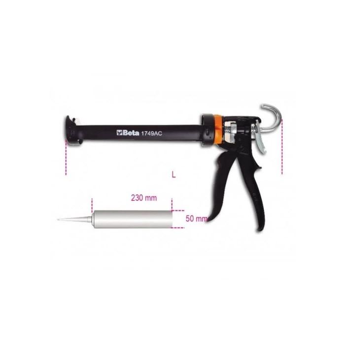 Пистолет за силикон 1749AC Beta Tools