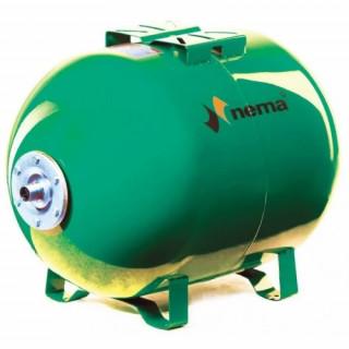 Разширителен съд хоризонтален NEMA 50L 10bar зелен