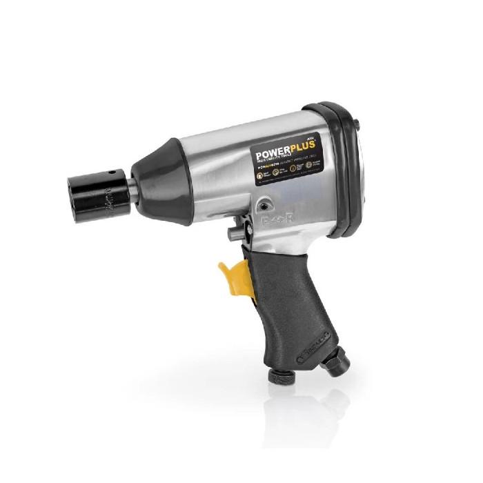 Пневматичен ударен гайковерт 1/2 POWER PLUS POWAIR0010 / 310 Nm