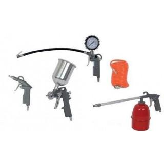Боядисващи пистолети за въздух Raider RD-AT01, 5 бр. комплект