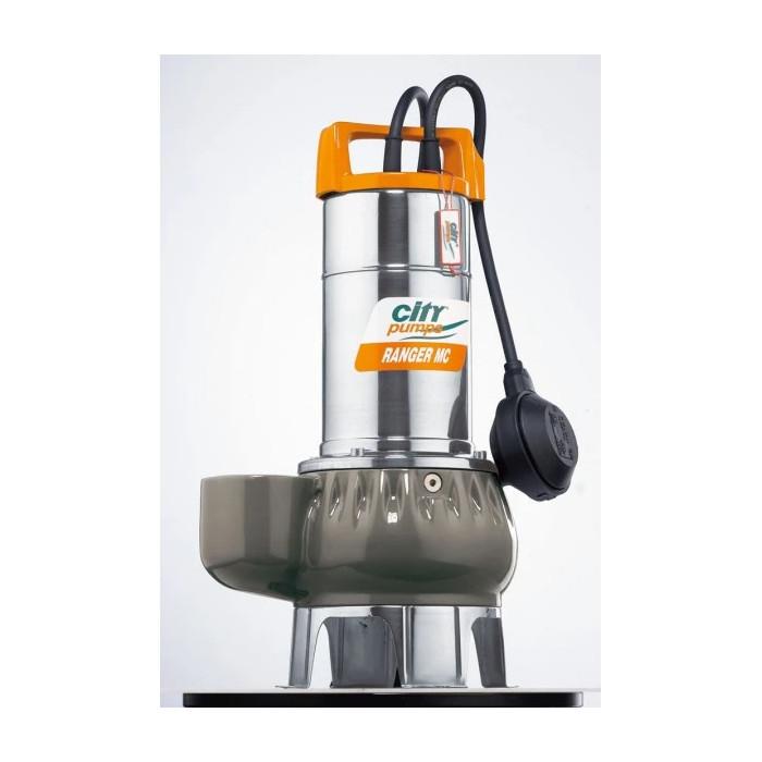 Дренажна помпа RANGER MC 10/50M, CITY, Q: 3-30 m³/h, 50-500l/min
