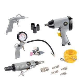 Пневматични инструменти POWER PLUS POWAIR0021 / 25 части