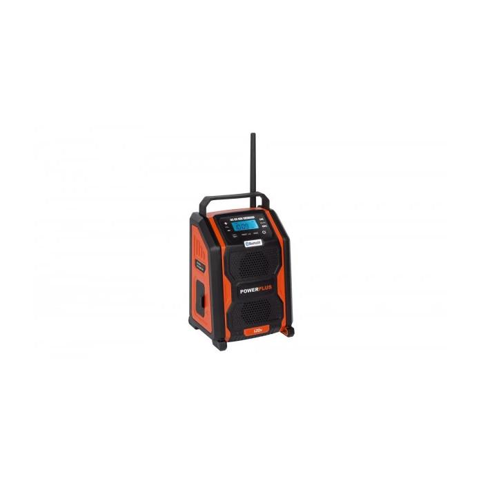 Акумулаторно радио POWER PLUS POWDP8060 / 20V + 220V