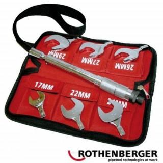 Динамометричен ключ със сменяеми накрайници ROTHENBERGER