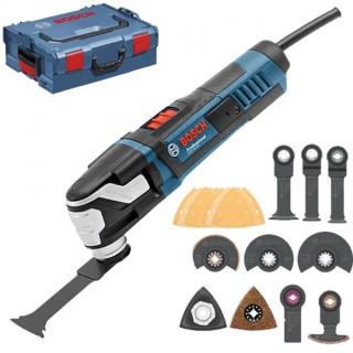 Мултифункционален инструмент Bosch GOP 55-36 консумативи+L-Boxx