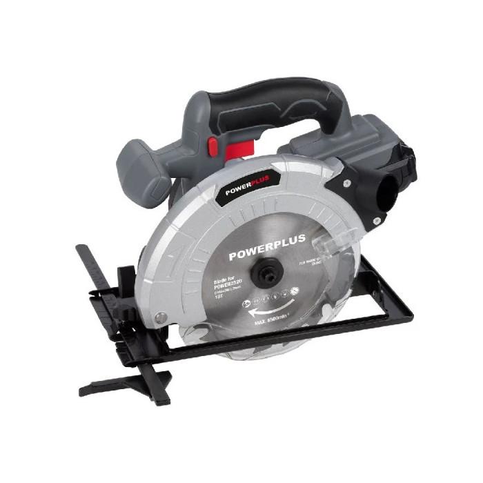 Акумулаторен циркуляр POWER PLUS POWEB2520 / 18V LI-ION, 165mm