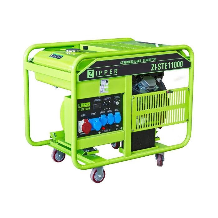 Бензинов трифазен генератор ZIPPER ZI-STE11000 / 13.4 kW