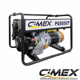 Трифазен генератор за ток CIMEX PG8000T 6.5kW / 17A