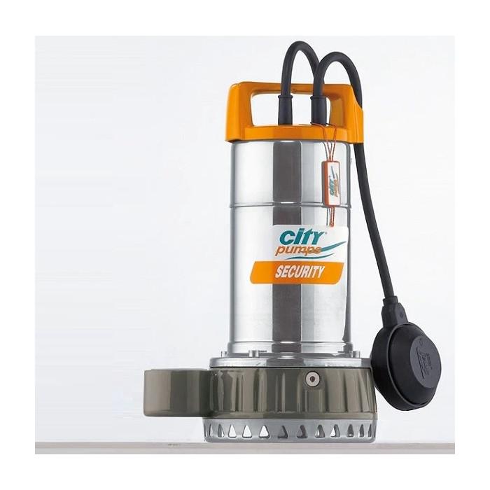 Дренажна помпа SECURITY 8M, CITY, Q: 1.5-16.5m³/h, 25-275 l/min