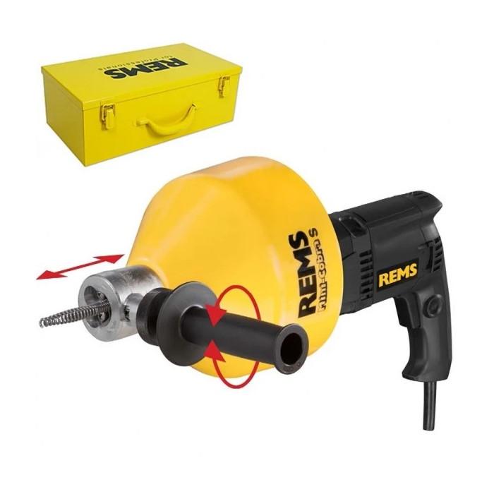 Машина за почистване на тръби и канали REMS Mini-Cobra Set 600W