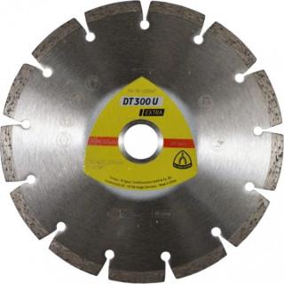 Диамантен диск за рязане KLINGSPOR DT300U Extra 230X2,3X22,23