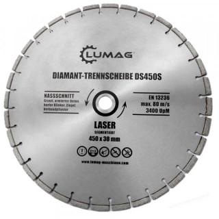 Диамантен диск за бетон LUMAG DS450T / 450 mm