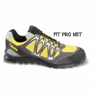 Работни обувки от мрежеста материя PU вложки 7340Y Beta Tools