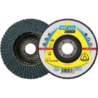 Ламелен диск за INOX/стомана KLINGSPOR SMT 624 - P40 115х22мм