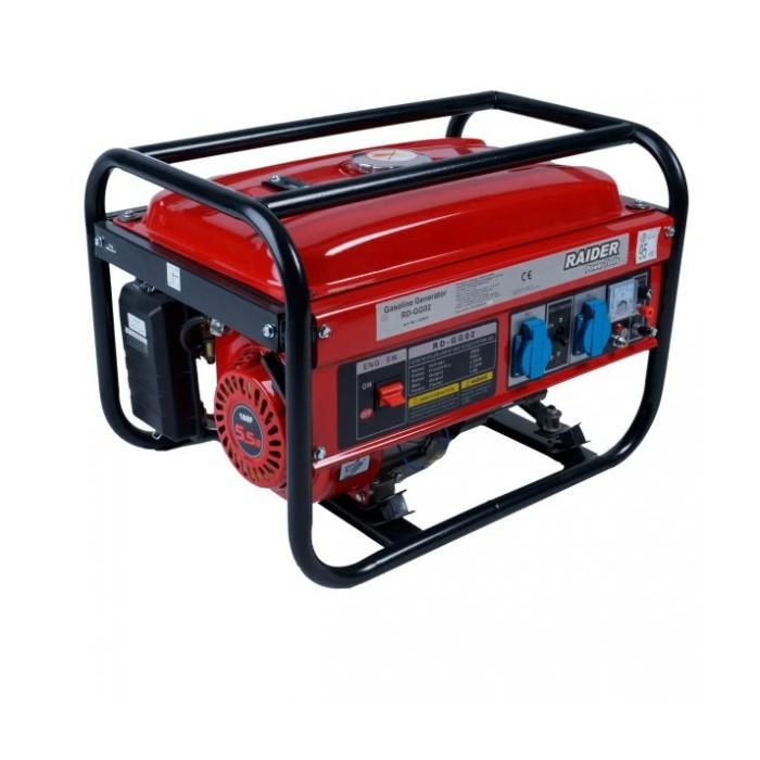 Бензинов генератор за ток Raider RD-GG02