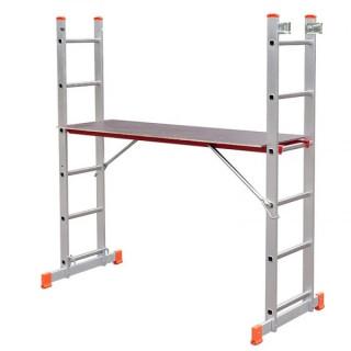 Скеле алуминиево - стълба комбинирана двураменна STS B10P2617