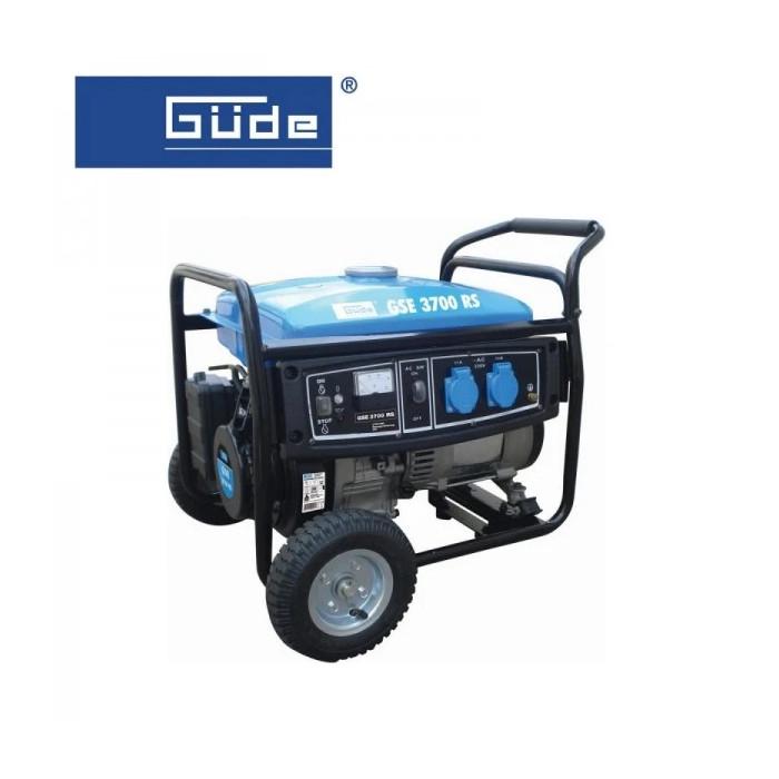 Електрогенератор GÜDE GSE 3700 RS / 4,8kW, 1,3 л/ч.