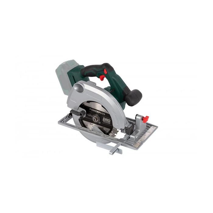 Акумулаторен циркуляр POWER PLUS POWPB30700 / 185mm, 20V Solo