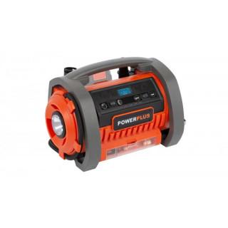 Акумулаторен компресор POWER PLUS POWDP7040 / 20/40 V, Solo