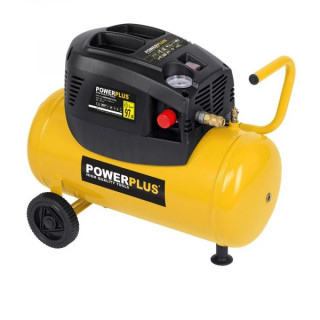 Безмаслен компресор POWER PLUS POWX1725 / 1.1 kW, 24 L, 8 bar