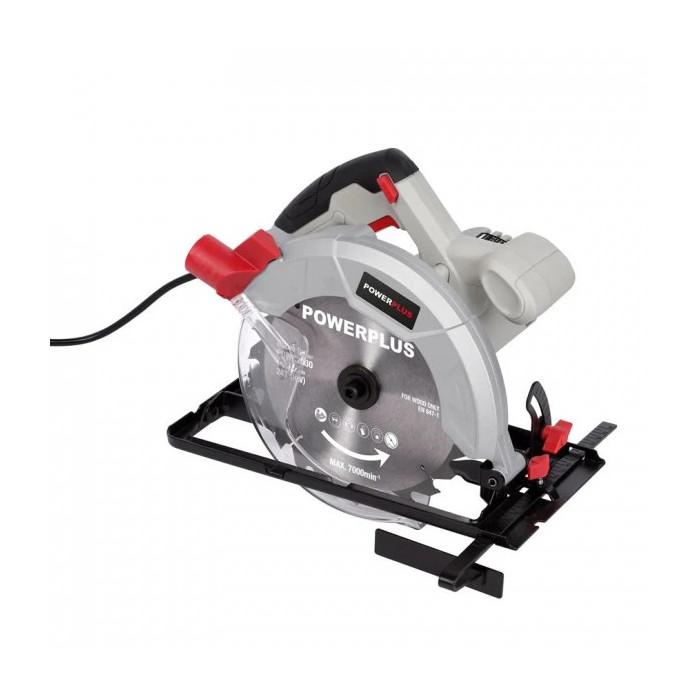 Ръчен циркулярен трион POWER PLUS POWC2030 / 1.2 kW