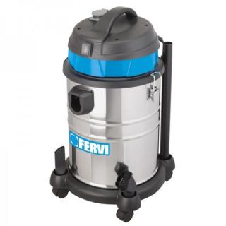 Прахосмукачка за сухо и мокро почистване Fervi A030 / 30A