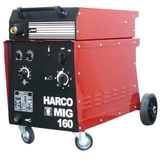 Телоподаващ заваръчен апарат HARCO MIG 160 / 3x380V