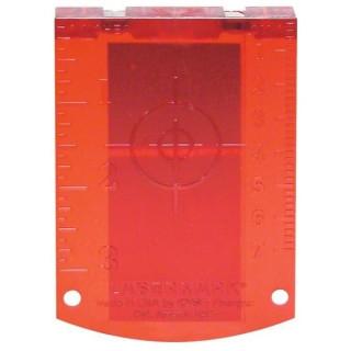 Лазерна мишена за лазерни ролетки (червена) Bosch Professional