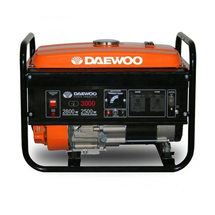 Бензинов генератор за ток Daewoo GD3000 2.5 / 2.8 kW