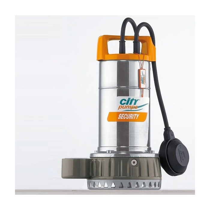Дренажна помпа SECURITY 20, CITY, Q: 1.5-12 m³/h 25-200 l/min