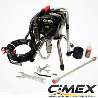 Машина за безвъздушно боядисване CIMEX AIRLESS X490 - 220 bar