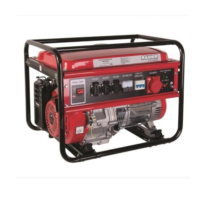 Бензинов генератор за ток Raider RD-GG07