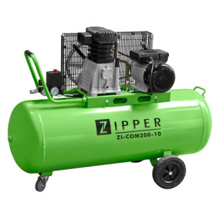 Компресор ZIPPER ZI-COM200-10 / 2.2 kW, 200 l, 10 bar